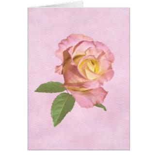 Peace Rose Customizable Card