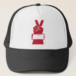 Peace Santa Trucker Hat