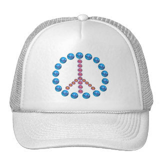 Peace Sign Artwork Hat