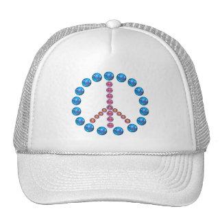 Peace Sign Artwork Hat