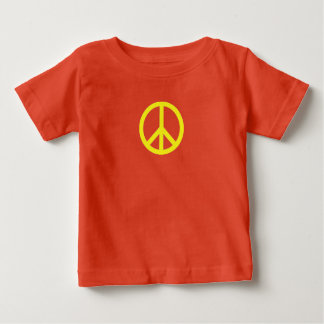 PEACE sign Baby fine jersey t-shirt
