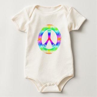 peace Sign Baby Suit Baby Bodysuit