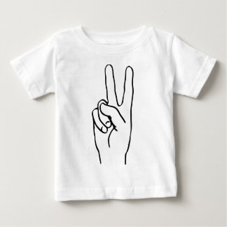 Peace Sign Baby T-Shirt