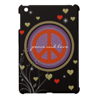 peace sign design cover for the iPad mini