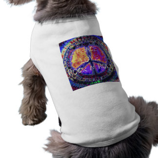 Peace Sign  Doggie Tee