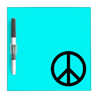 Peace Sign Dry Erase Board
