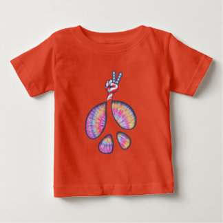 peace Sign Flag Hand Baby T-Shirt