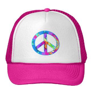 Peace Sign Fractal Cap