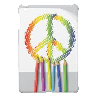 peace sign iPad mini case