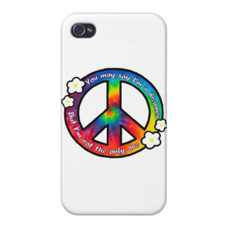 Peace Sign iPhone 4 Case