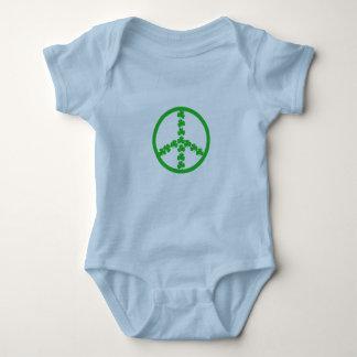 Peace sign Irish baby Baby Bodysuit