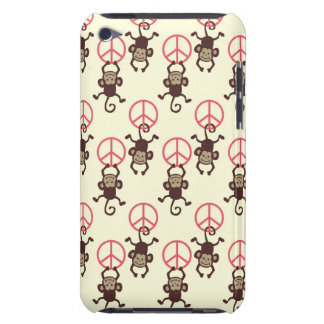 Peace Sign Monkeys iPod Touch Cases