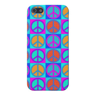 peace sign motif  IPhone 4 Cover For iPhone 5/5S