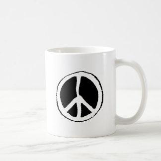 Peace Sign Coffee Mugs