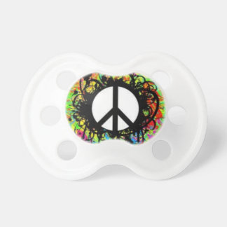 Peace Sign Pacifier