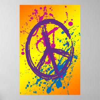 470+ Paint Splatter Posters | Zazzle