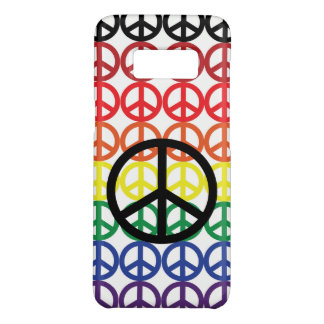 Peace Sign Rainbow with Black Peace Sign Case-Mate Samsung Galaxy S8 Case
