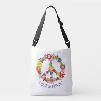 Peace Sign Shopper Tote