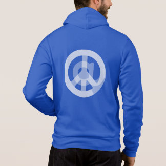 @ Peace Sign Social Media Blogger Internet Logo Hoodie