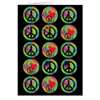 Peace Signs Card
