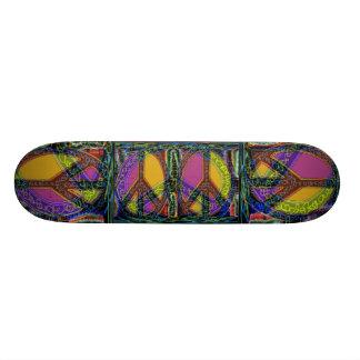 Peace Signs Emerging.. 19.7 Cm Skateboard Deck