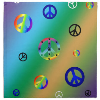 Peace Signs Napkins
