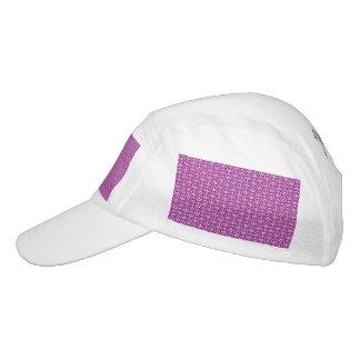 Peace Signs on Plum Purple Hat