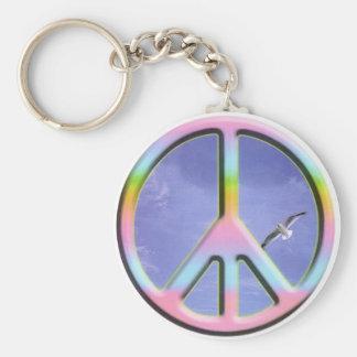 peace-sky key ring