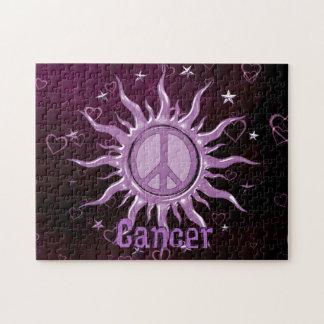 Peace Sun Cancer Jigsaw Puzzle