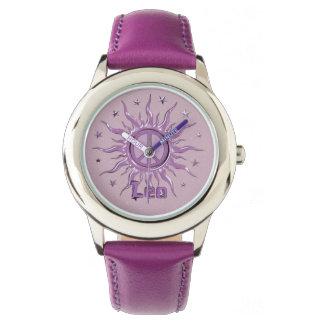 Peace Sun Leo Wrist Watch