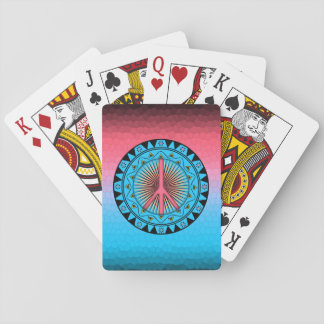 Peace ~ Sun Playing Cards