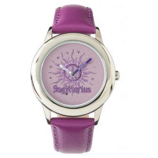 Peace Sun Sagittarius Wrist Watches