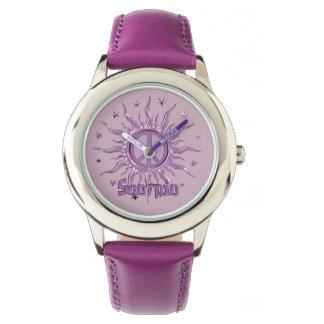 Peace Sun Scorpio Watch
