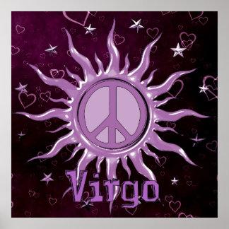 Peace Sun Virgo Poster