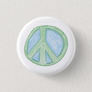 Peace Symbol by Spud 3 Cm Round Badge
