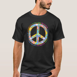 Peace Symbol for Hippies T-Shirt