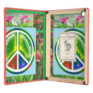 PEACE SYMBOL GREEN    : Elegant  Safety Tools iPad Air Cover