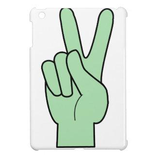 Peace Symbol Hand iPad Mini Covers