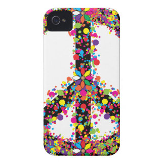 Peace symbol large iPhone 4 covers