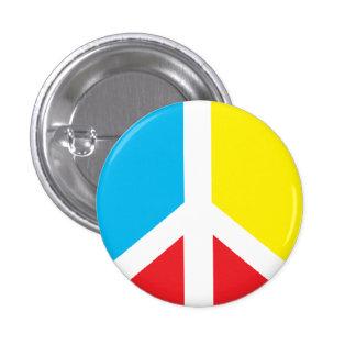 Peace Symbol Mini-button 3 Cm Round Badge