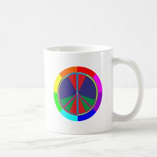 Peace symbol peace symbol coffee mug