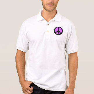 Peace Symbol Polos