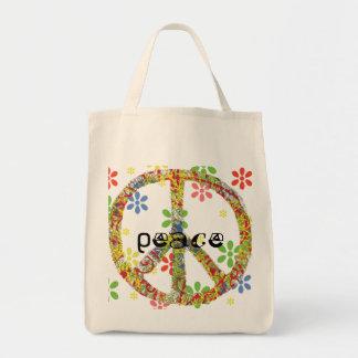 Peace Symbol Tote