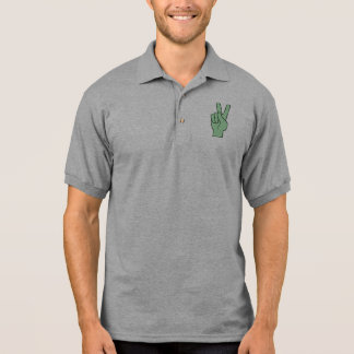Peace Symbol Polo T-shirts