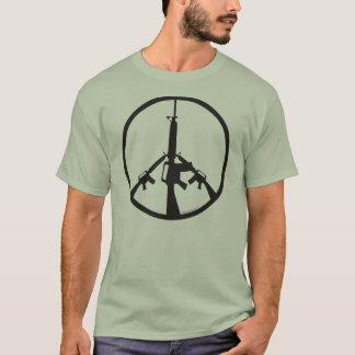 Peace Through Superior Firepower - Men T-Shirt