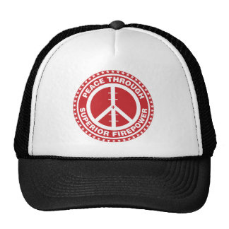 Peace Through Superior Firepower - Red Cap