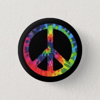 Peace Tie-dye 3 Cm Round Badge