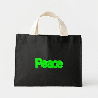 peace! - Tiny Tote Tote Bag