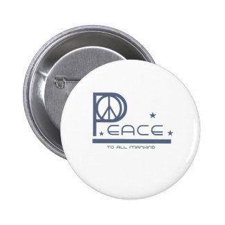 Peace to All Mankind Button