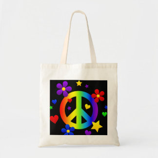 PEACE Tote Canvas Bags